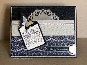Paper Craft Crew Card Sketch #153 design team submission by Heidi Weaver. #stampinup #papercraftcrew #heidiweaver