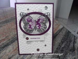 Paper Craft Crew Card Sketch #161 design team submission by Carolyn Lindenmayer. #stampinup
