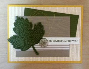 Paper Craft Crew Card Sketch #162 design team submission by Tracie Langley. #stampinup #tracielangley