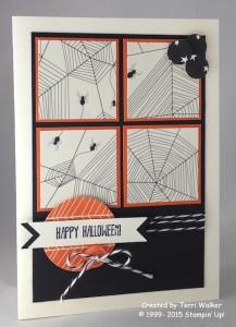 Paper Craft Crew Card Sketch #164 design team submission by Terri Walker. #stampinup #terriwalker