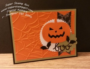Paper Craft Crew Challenge #166 design team submission by Crystal Komara. #stampinup #papercraftcrew #crystalkomara