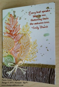 Paper Craft Crew Card Sketch #167 design team submission by Tracie Langley. #stampinup #tracielangley