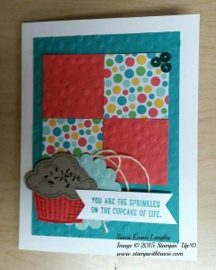 Paper Craft Crew Card Sketch #164 design team submission by Tracie Langley. #stampinup #tracielangley