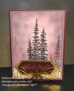 Paper Craft Crew Challenge design team submission by Deb Smart. #stampinup #papercraftcrew #deborahsmart