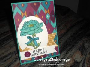 Paper Craft Crew Challenge design team submission by Carolyn Lindenmayer. #stampinup #carolinelindenmayer