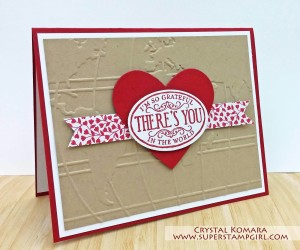Paper Craft Crew Challenge design team submission by Crystal Komara. #stampinup #papercraftcrew #crystalkomara