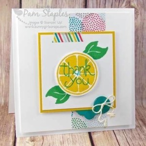 Paper Craft Crew Design Team submission by Pam Staples for Sketch Challenge 180. #pamstaples #sunnygirlscraps #stampinup #themechallenge #papercraftcrew