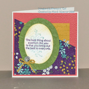 Paper Craft Crew Challenge 187 Design Team Card submitted by Heidi Weaver. #papercraftcrew #heidiweaver #themechallenge