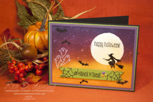 Spooky Night Sky Card