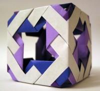 Decoration box variant - 12 module Ninja Star Cube