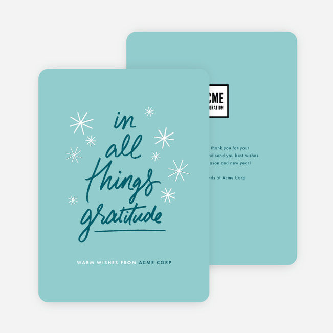 Christmas Save Date Postcards