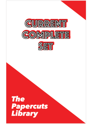 Complete Set: The Papercuts Library #1-4