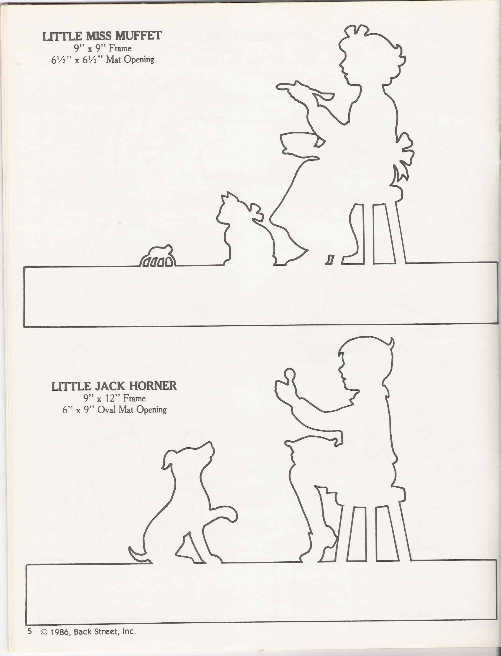 Little Jack Horner Worksheet
