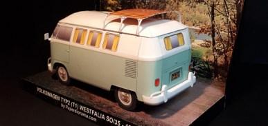 Papercraft imprimible y recortable del Volkswagen Typ 2 (T1) 1962 Westfalia. Manualidades a Raudales.