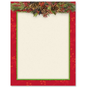 Christmas Swag Border Papers PaperDirects