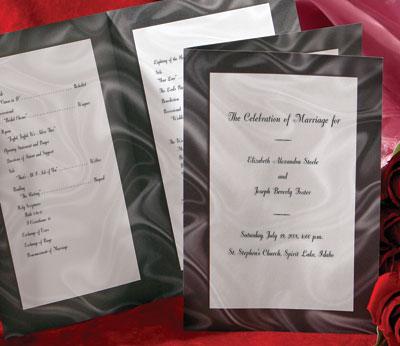 5 Stylish DIY Wedding Programs PaperDirect Blog