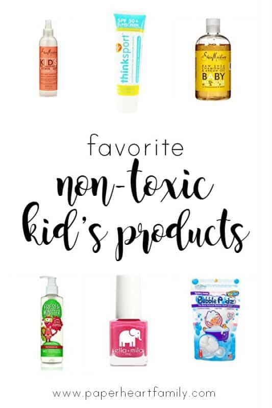 Discover this mom's tried-and-true safe baby bath products and kid's products. These are the best of the best in organic baby wash, shampoo, hair detangled, sunscreen and nail polish!