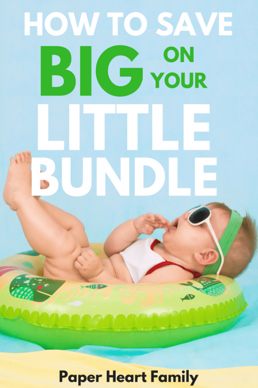 Get over the fear of busting your budget after baby and learn how to save money after baby.