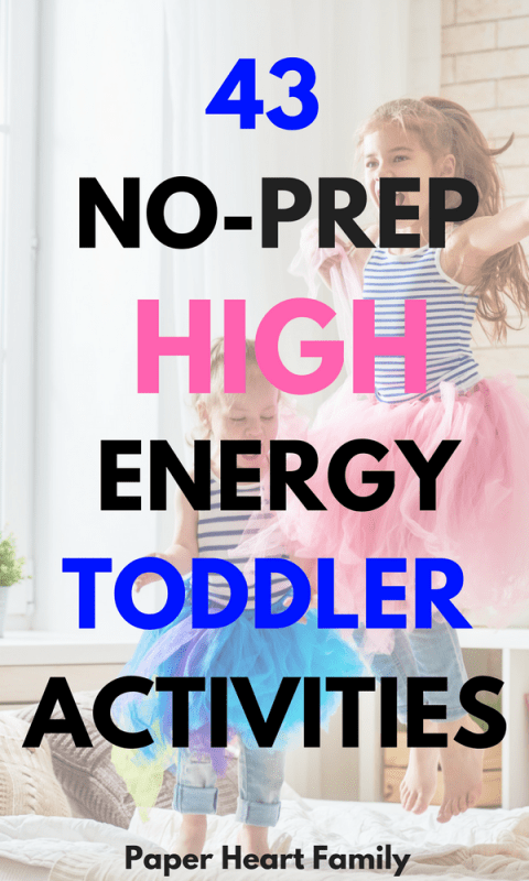 Active Toddler Activities- 43 Ways To Tire Your Kid Out Before Bedtime