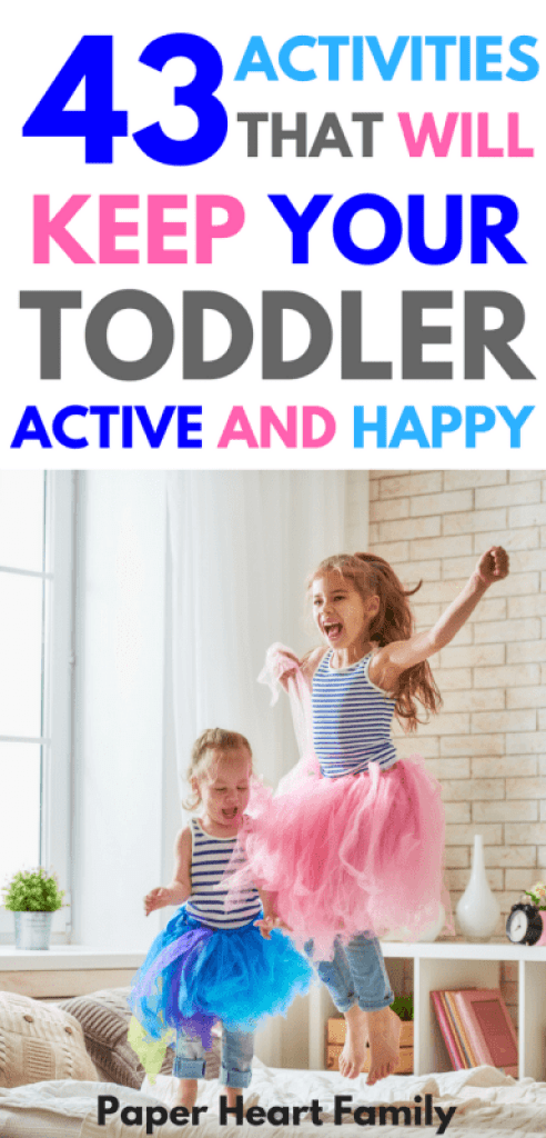 Indoor Physical Activities for Toddler Fun