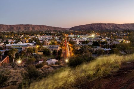 Alice Springs, Australia is the jumping off point for adventures to Uluru/Ayers Rock. It is located in the heart of Australia, the Red Centre...