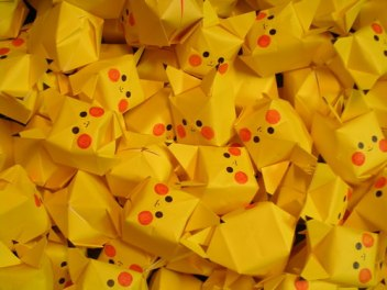 Pikachu Origami Cube – Cute Pokemon