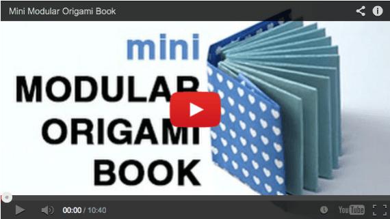Mini Origami Books via @paper_kawaii