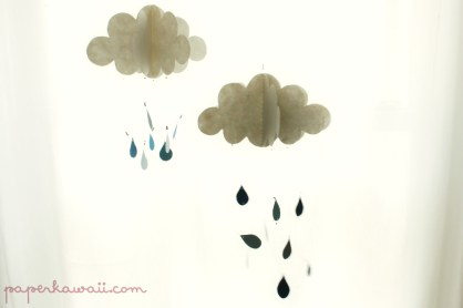 3D Cloud Decoration Tutorial via @paper_kawaii
