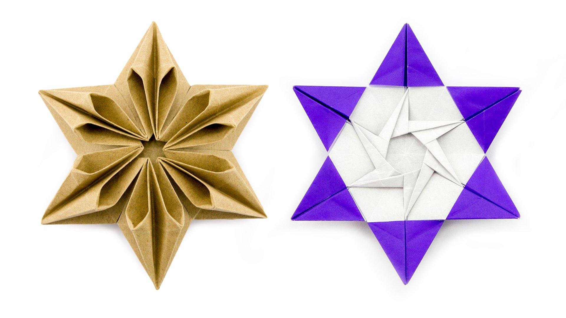 Origami Augustar Star Tutorial (José Meeusen) - Paper Kawaii - photo#24