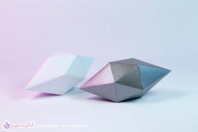 paper-crystal-printable-gem-templates-ICOSAHEDRON-grey-2