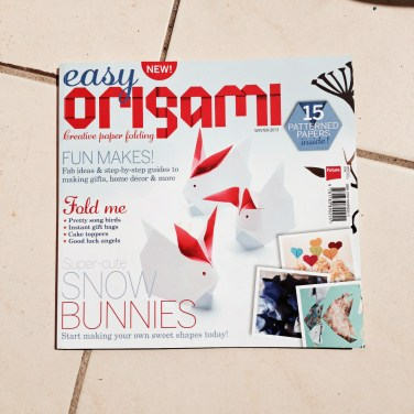 Easy Origami Magazine – creative paper folding