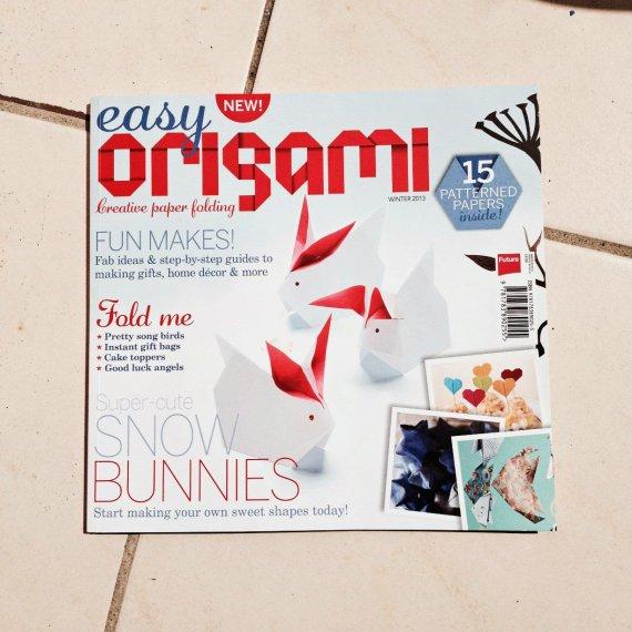 Easy Origami Magazine - creative paper folding via @paper_kawaii