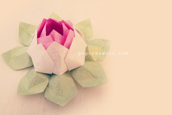 Modular Origami Lotus Flower – Video Tutorial