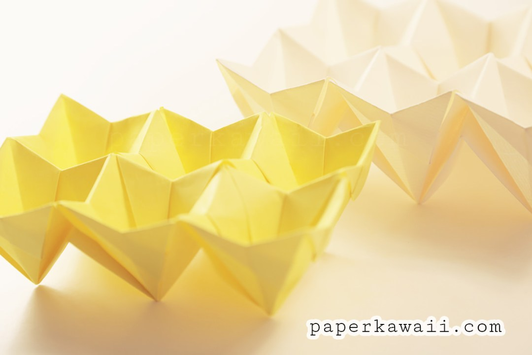 origami egg box tutorial easter paper kawaii
