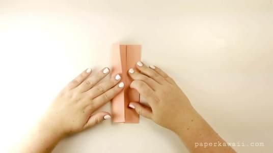 Easy Origami Bow Photo Tutorial via @paper_kawaii