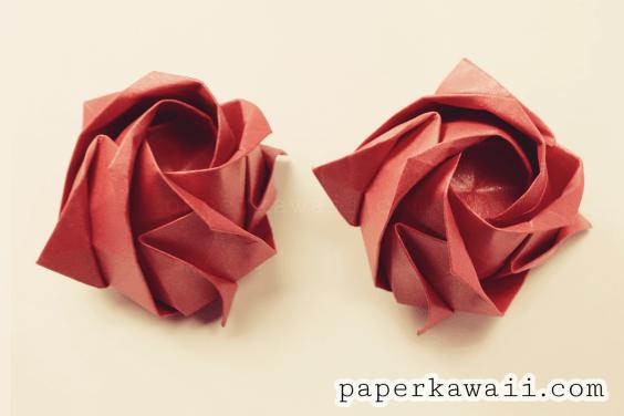 Origami Kawasaki Rose Video Tutorial