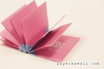Origami Blizzard Book Tutorial Video via @paper_kawaii
