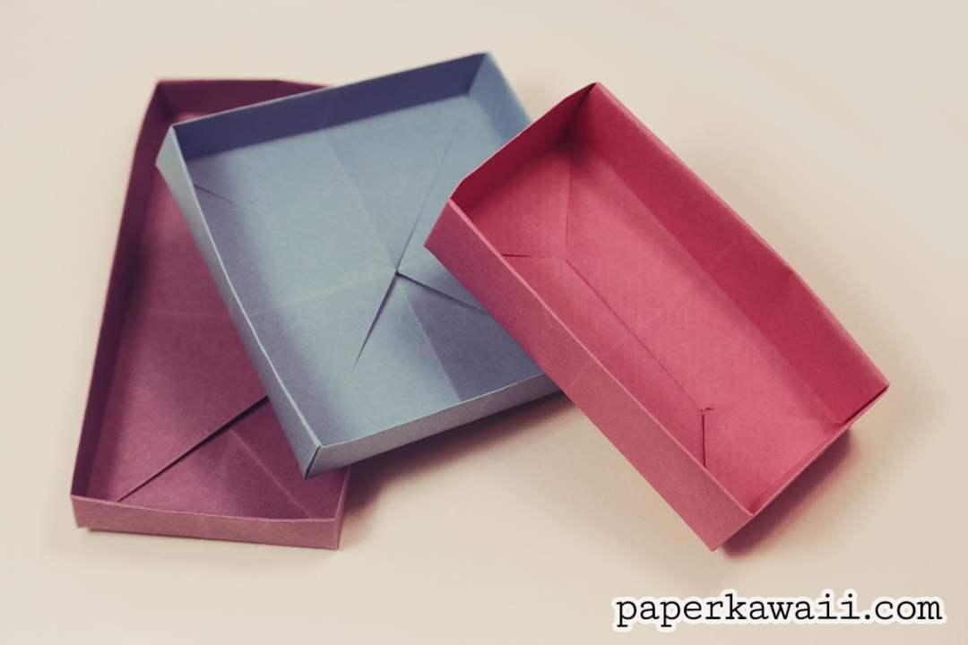 Origami Rectangular 'Envelope' Box Tutorial via @paper_kawaii