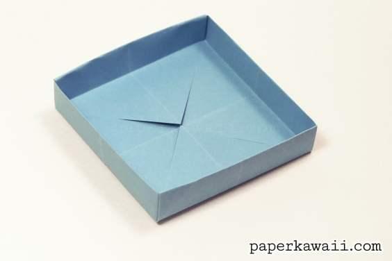 Square & Shallow Origami Masu Box Tutorial