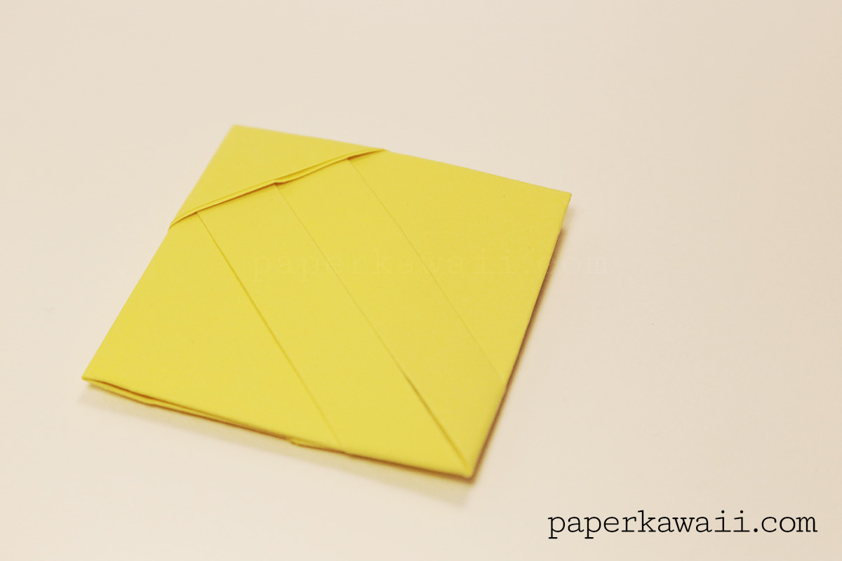 Origami Note Folding Instructions | Tutorial Origami Handmade - photo#2