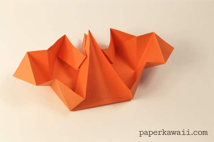 Origami Pumpkin Tato Video Tutorial via @paper_kawaii