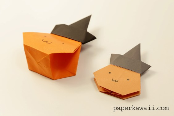 Origami Pumpkin Bag – Halloween Video Tutorial