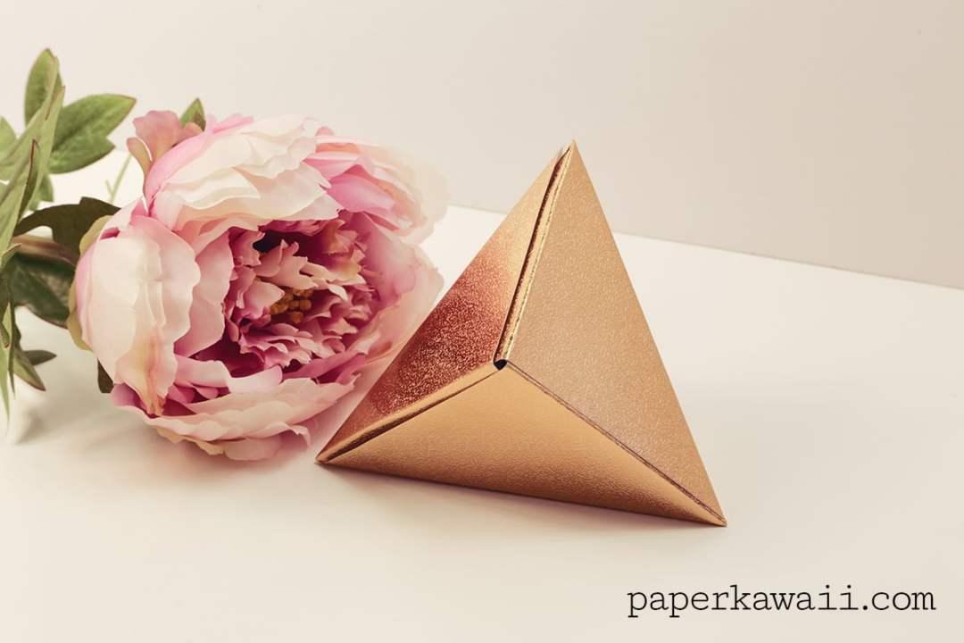Modular Origami Fox Gift Box 01