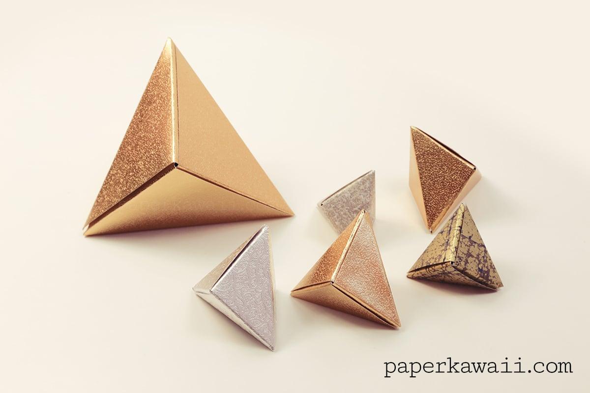 Modular Origami Fox Box Video Tutorial