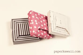 Origami Bow Gift Box Video Tutorial via @paper_kawaii