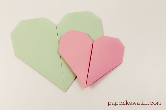 Easy Origami Heart Video Tutorial