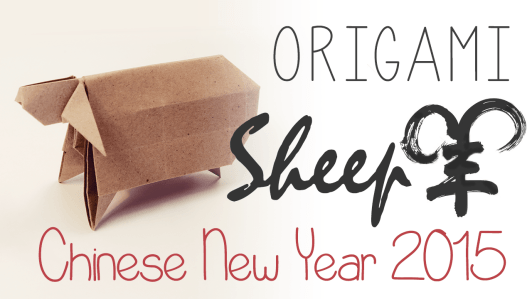 Origami Sheep Tutorial via @paper_kawaii