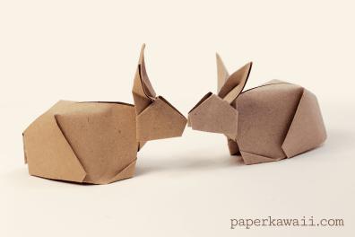 Origami Bunny Rabbit Tutorial