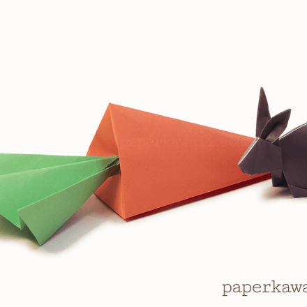 Sweet Origami Candy Box - Video Tutorial via @paper_kawaii