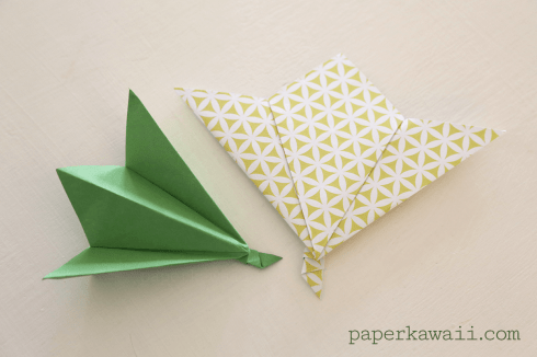 Origami Leaf Tutorial - Easy! via @paper_kawaii